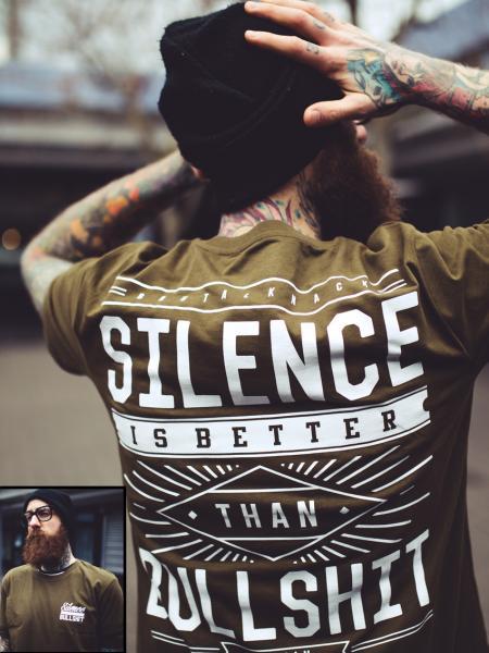 Silence Shirt limited [khaki]
