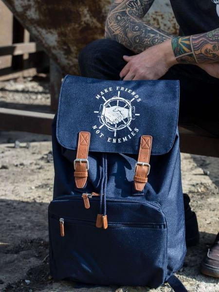 Rucksack Make Friends [navy]