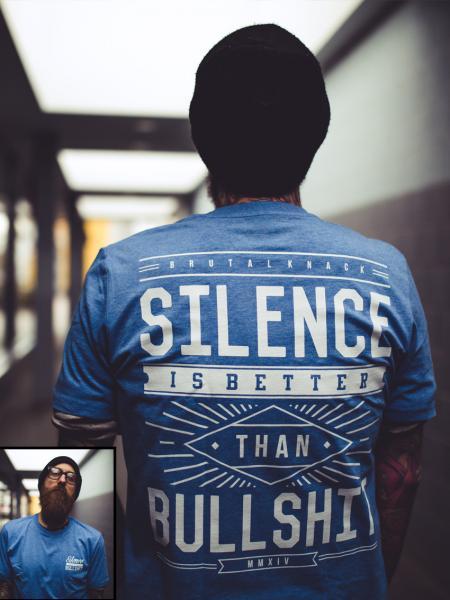 Silence Shirt limited [heatherblue]