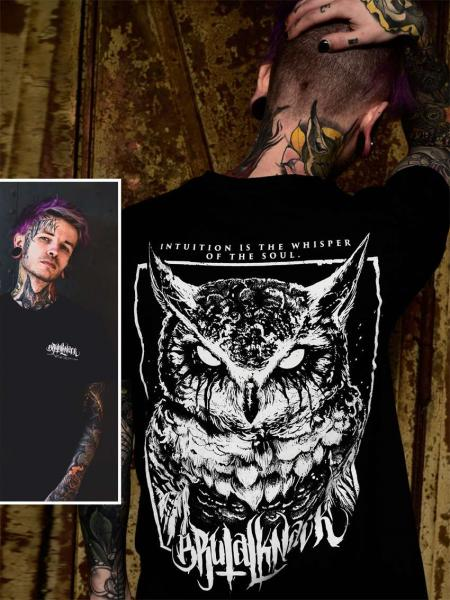 Owl Shirt V2 [black]