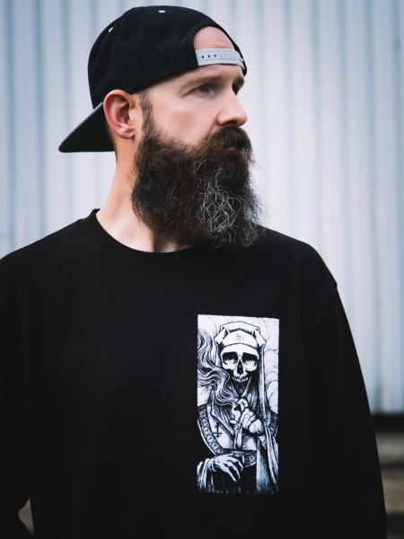 Death Nun Crewneck [Black]