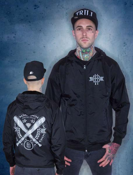 Baseball Windbreaker [black]