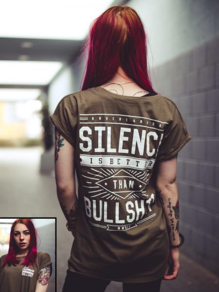 Silence Extended Shirt [olive]