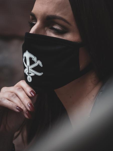 Mund- und Nasenmaske - Anchor [black]