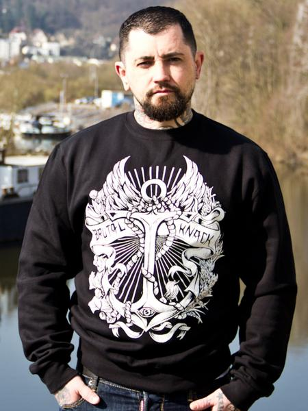 Anchor Crewneck [black]