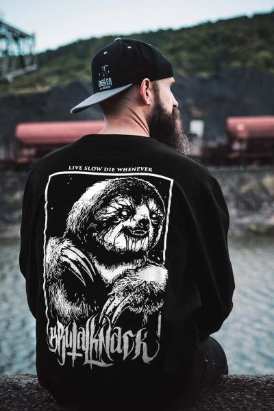Sloth Crewneck [black]
