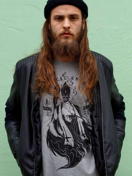 Priest Shirt [grey] [nur noch S u. L]