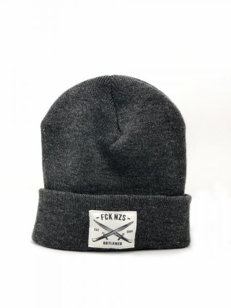 Beanie FCKNZS [coal]