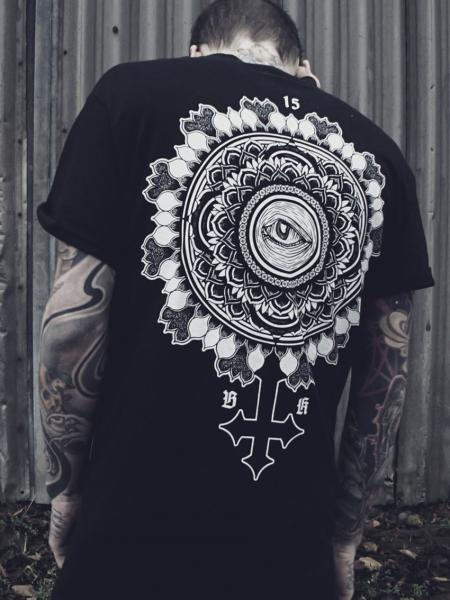Breakdown Circle Shirt [black]