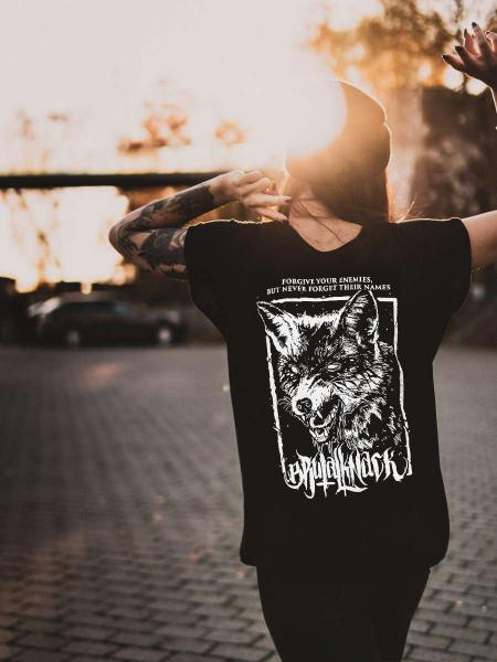 Fox Extended Shirt [black]