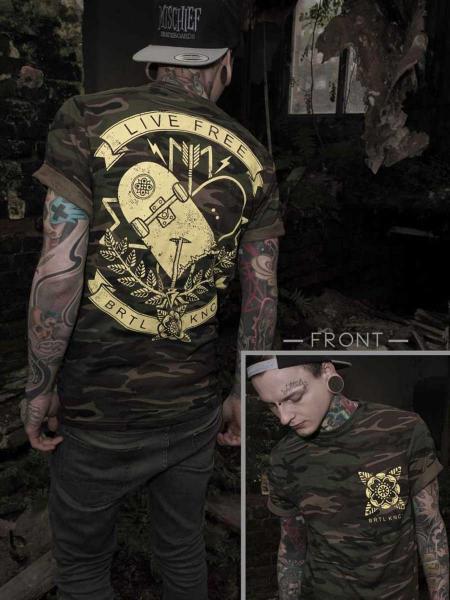 Live Free Shirt [camo]