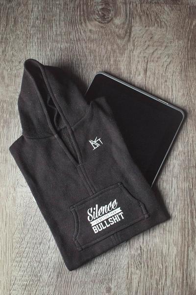 Silence Tablet Hoodie (Hülle) [black]