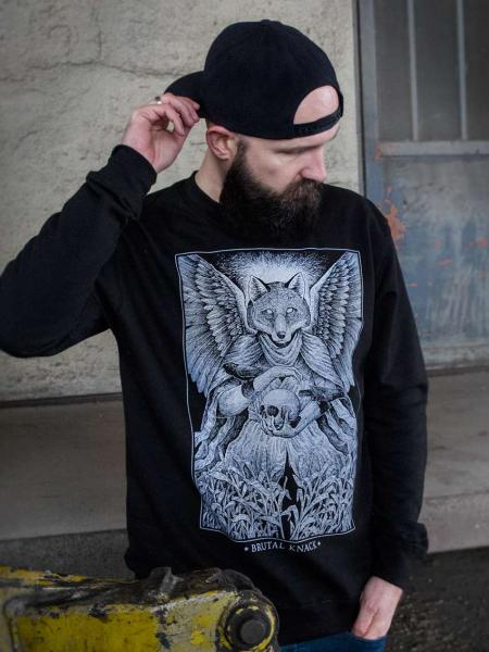 Holy Fox Crewneck [black]