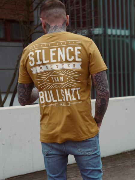Silence Shirt limited [ochre]