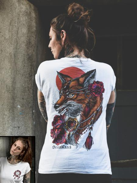 Foxy Extended Shirt [white]