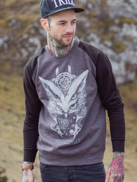 Quadruplo Universo Sweater [Anthrazit/black]