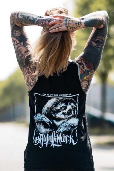 Sloth Jersey Tank [black]
