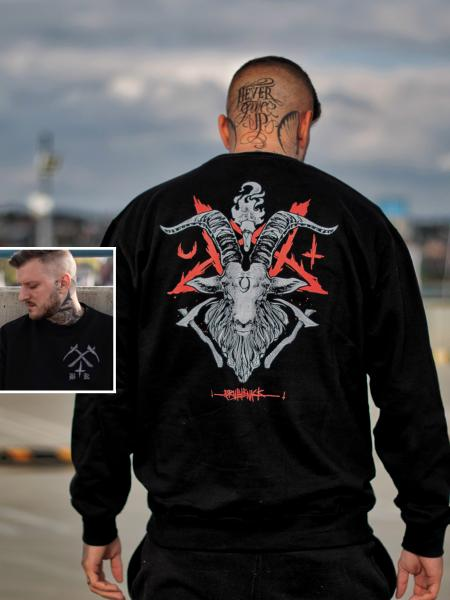 Occult Baphomet Sweater [black]