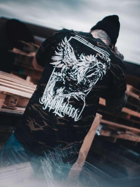 Rooster Shirt [camo] [nur noch S]
