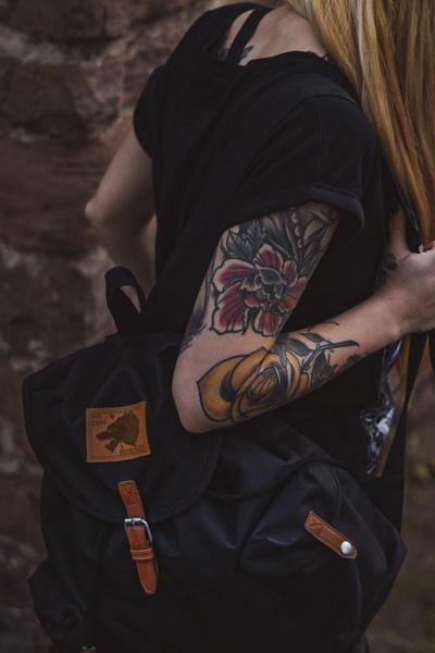Rucksack Wulf [black]