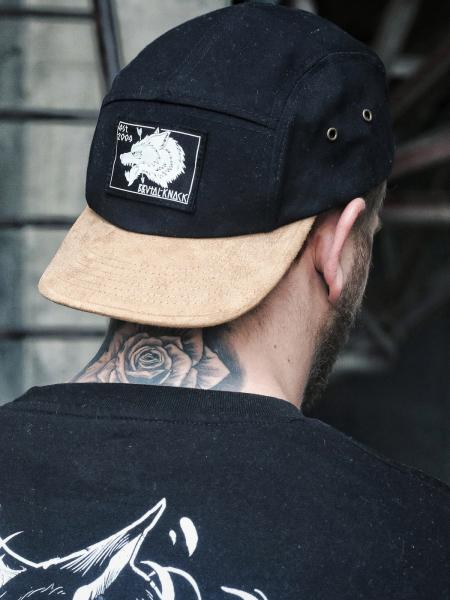 Jockey Cap Wolf [black]
