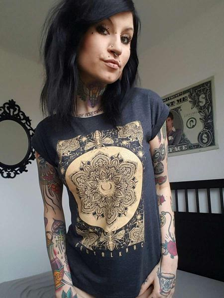 Geometricum Extended Shirt [anthrazit]