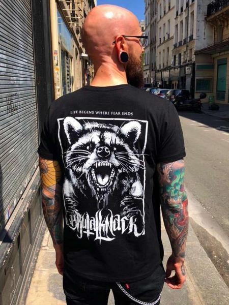 Racoon Shirt V2 [black]