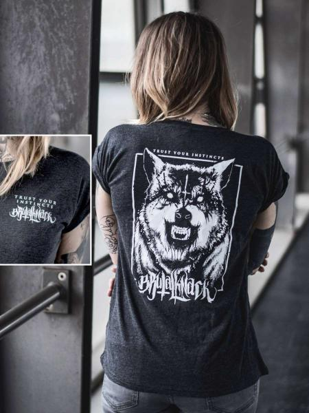 Instincts Extended Shirt [anthrazit]