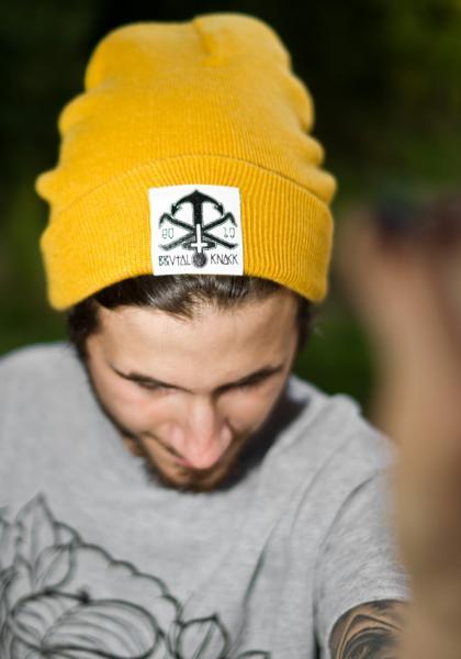 Beanie Anchor [mustard]