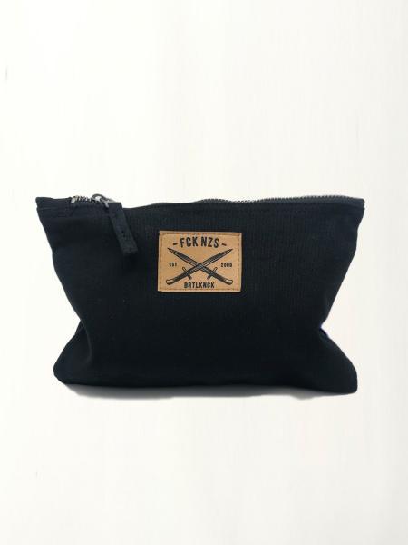 Canvas Bag FCK NZS [black]