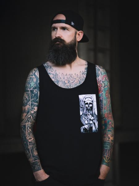 Death Nun Tank [Black]