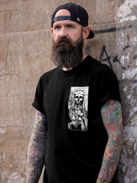 Death Nun T-Shirt [Black]