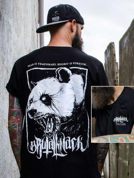 Panda Shirt V2 [black]