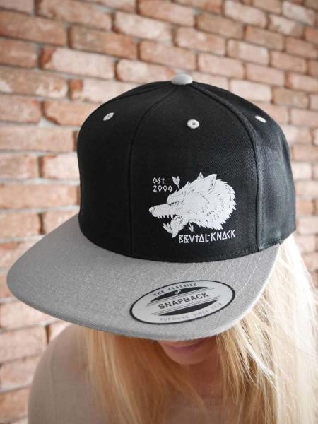 Snapback Wulf [black/grey]