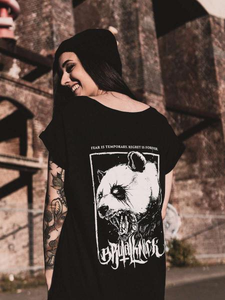 Panda Extended Shirt [black]