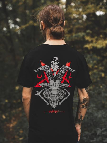 Occult Baphomet Shirt [black]