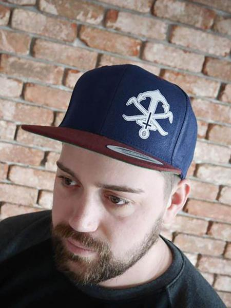 Snapback Anchor [navy/bordeaux]